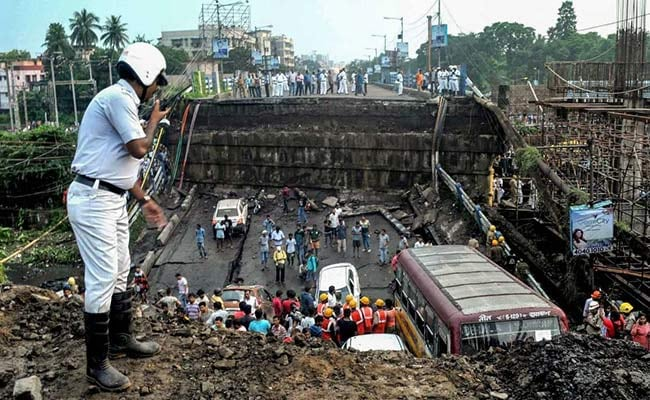 Kolkata Bridge Collapse: Search Ops Continue As Many Still Feared Trapped