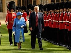 """Did Donald Trump Just Walk In Front Of The Queen?"""