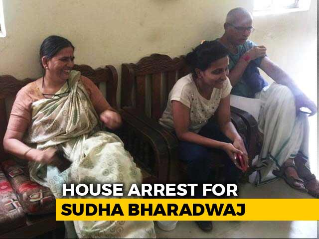 Video : After Midnight Drama, Activist Sudha Bharadwaj To Be Under House Arrest