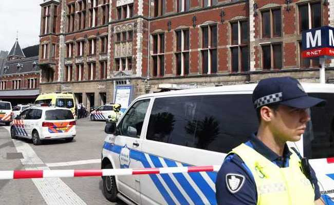 Two Hurt In Amsterdam Station Stabbing, Suspect Shot, Say Police