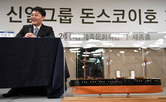 South Korea Firm Apologises For 'Irresponsible' Treasure Ship Claim