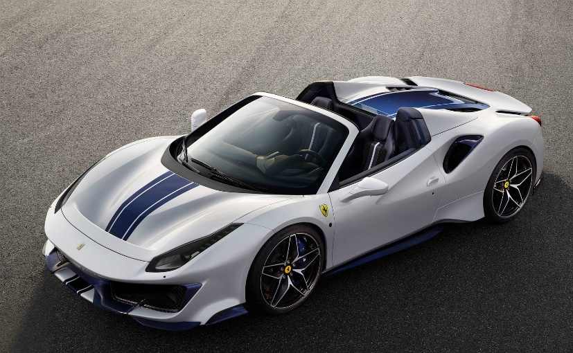 Ferrari Launches Its 50th Convertible, the 488 Pista Spyder