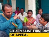 "Video : ""No More New Documents To Submit,"" Say People Left Out In Assam List"