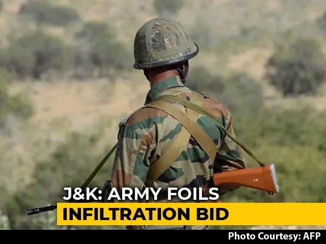 Video : Army Foils Infiltration Bid In Jammu And Kashmir's Macchil Sector, 3 Terrorists Killed