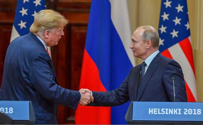 Donald Trump denies collusion, says Russian Federation probe 'a disaster' for US