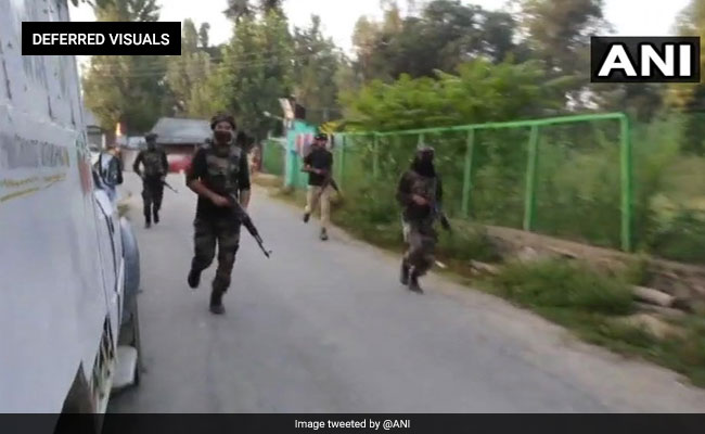 2 Terrorists Shot Dead In Encounter At Jammu And Kashmir's Sopore