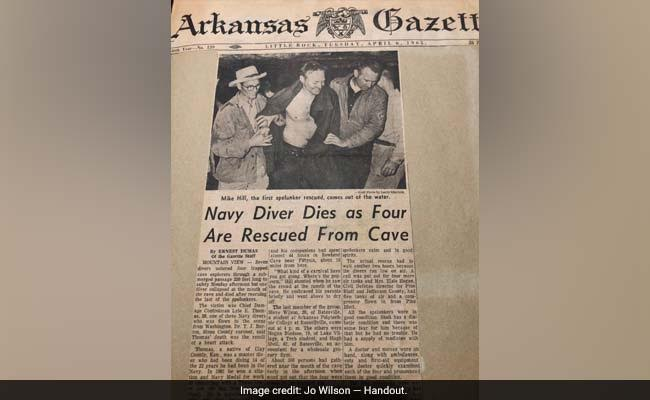 Dramatic Rescue Of 4 American Explorers Stuck In A Cave, 53 Years Ago
