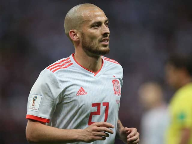Manchester Citys Spain Midfielder David Silva Retires From International Football