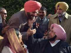 Navjot Sidhu Targets Amarinder Singh Amid Feud In Punjab Congress