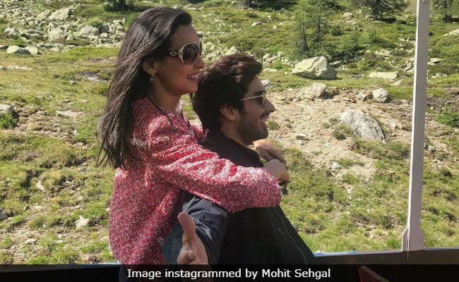 Sanaya Irani And Mohit Sehgal Swiss Vacation Looks Like A Bollywood Film