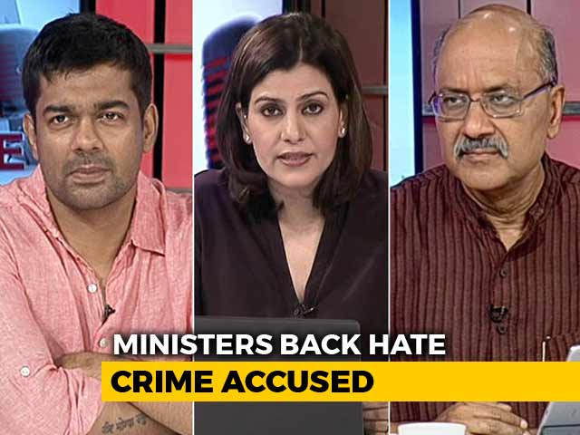 Video : Ministers Back Riot, Lynching Accused: Why Is PM Silent?