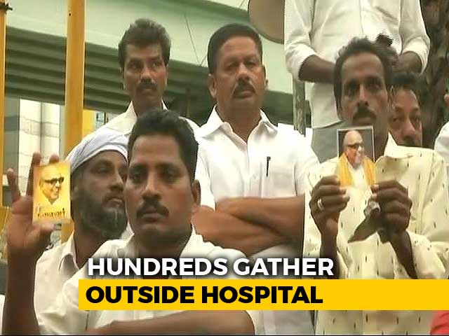 Video : DMK Chief Karunanidhi Better Now, Hospital Says After Health Scare