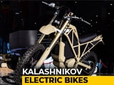 Video: Kalashnikov Electric Motorbikes: UM-1 and SM-1