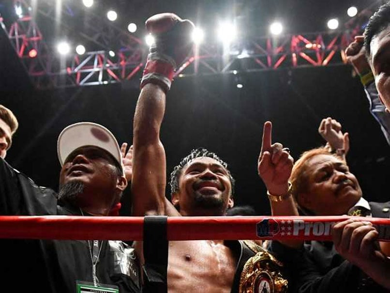 Pacquiao rolls back years to knock out Matthysse