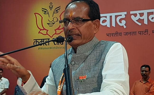'BJP Fulfilled Congress's Promise Of Removing Poverty': Shivraj Chouhan