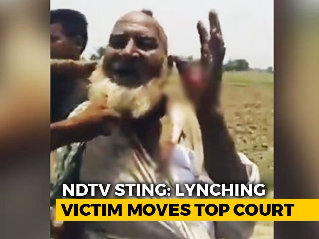 Video : Supreme Court To Take Up Hapur Lynching On Petition Over NDTV Expose