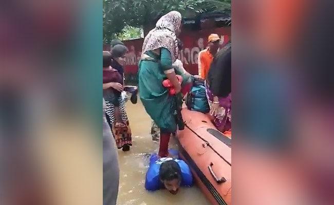 fishermans amazing gesture in floodhit kerala wins over