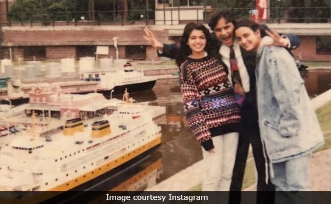 That's Bhagyashree In Amsterdam. Guess Who The Actress With Her Is