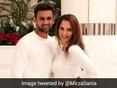 Sania Mirza, Shoaib Malik Set Couple Goals With Their
