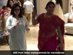 At Priyanka Chopra And Nick Jonas' <i>Roka</i>, '<i>Munde Di Maa</i>' Denise And Madhu Chopra Stole The Show With Their Dance