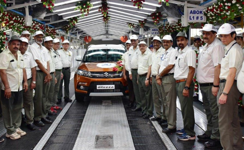 Maruti Suzuki has crossed the 20 million units production milestone in India.
