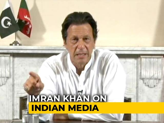Video : Indian Media Portrayed Me Like Bollywood Villain: Imran Khan