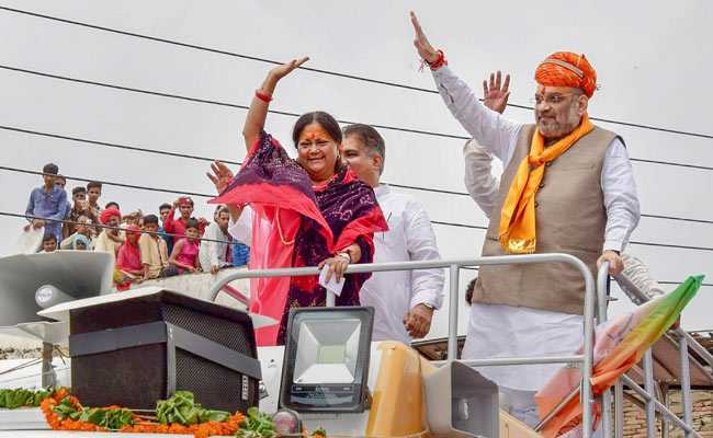 BJP Fields Family Members Of Several Party Leaders In Rajasthan Election