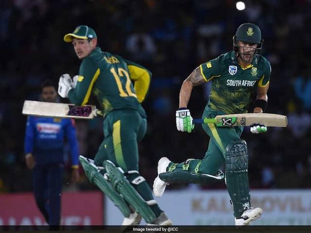 Quinton De Kock Steers South Africa To 2-0 Lead In Sri Lanka
