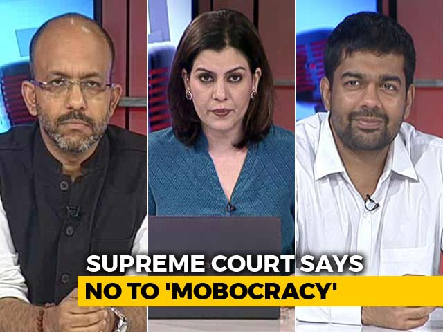 Video : Top Court Crack Down: Will A Tough Law Against Mob Killings Work?