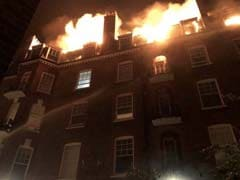 Fire Rages Through London's West Hampstead Flat, Dozens Evacuated