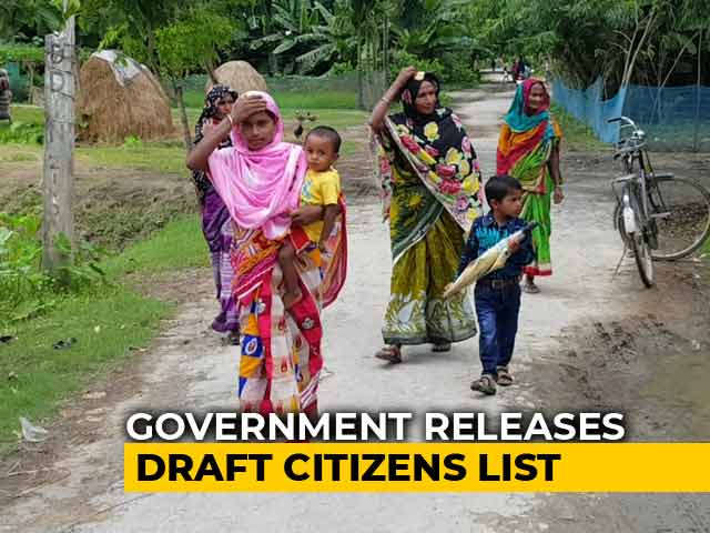 Video : 40 Lakh Left Out Of Draft List Of Indian Citizens In Assam