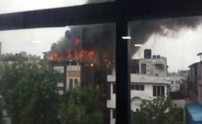 Fire Breaks Out At Noida Garment Factory, No Casualties