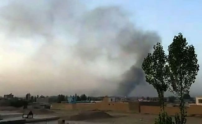 In pictures and latest on coordinated Taliban attack on Ghazni city