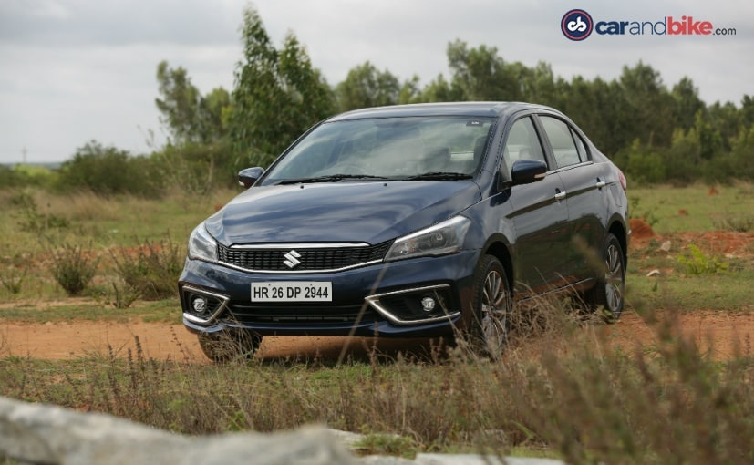 The affected Maruti Suzuki Ciaz were were manufactured between August 1 and September 21, 2018