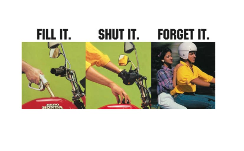 We take a look at some of the most iconic slogans from the world of two-wheeler advertising