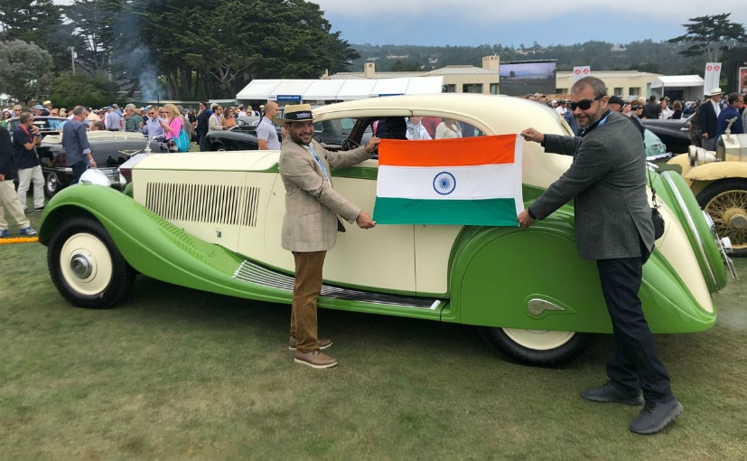 The poster car for the 2018 Pebble Beach Concours d'Elegance, 1935 Rolls-Royce Phantom II Continental
