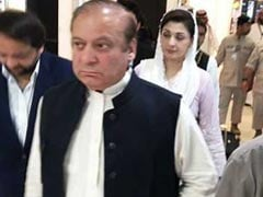 Ex-Pak PM Nawaz Sharif, Daughter In Lahore For Kulsoom Nawaz's Funeral