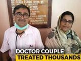 Video : Kerala Doctor Couple Treated Thousands, Helped Send People To Relief Camp