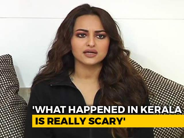 Video : Happy That Whole Country Came Together To Help Kerala: Sonakshi Sinha