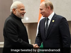 PM Modi Meets Russian President Putin At BRICS Summit In Africa