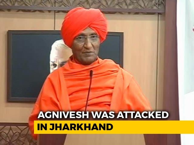 "Video : ""No Arrests Yet"": Swami Agnivesh To Move Top Court Over Jharkhand Assault"