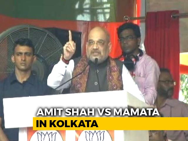 "Video : ""Flop Show"": Trinamool Demands Apology For Amit Shah's ""Insult"" Of Bengal"