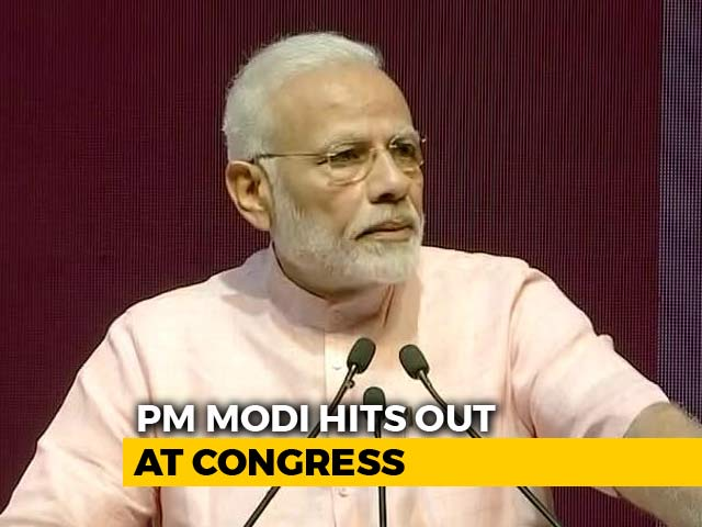 Video : PM Modi Launches India's Largest Payments Bank With Shot At Congress
