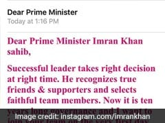 'Dear Prime Minister,' He Wrote To Imran Khan. Oops, Wrong Imran