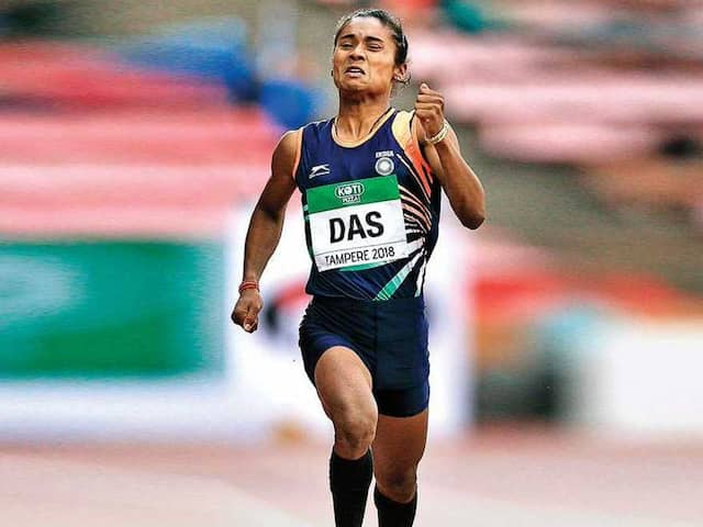 Asian Games 2018: This big mistake forced to Hima Das to commit the blunder takes her out of race