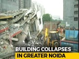 Video : Under-Construction Building Falls On Another Near Delhi, Many Trapped