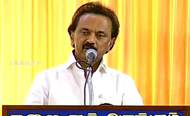 MK Stalin Wants Sacking Of Minister, Top Cop Over Gutkha Scam