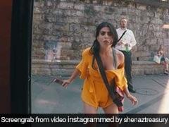 डांस के चक्कर में विदेश में छूटी एक्ट्रेस की ट्रेन, प्लैटफॉर्म पर यूं भागती रह गईं; Video Viral