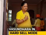 "Video : ""Will Give Rs. 500 To Buy Mobile Phone"": Vasundhara Raje's Election Pitch"