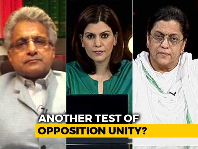 Video : Crucial Rajya Sabha Polls Tomorrow: Test For Opposition Unity?